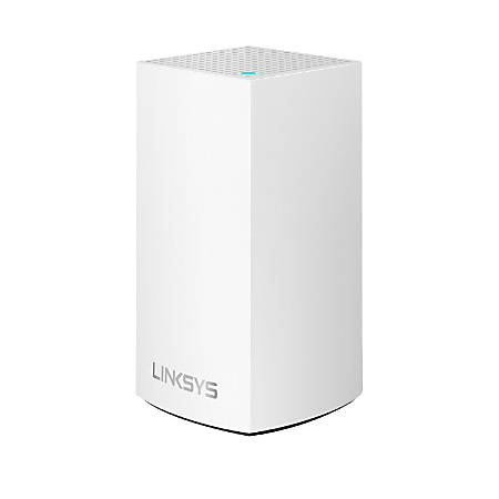 Linksys® Velop Intelligent Mesh™ 2-Port Gigabit Ethernet Wi-Fi System, WHW0101