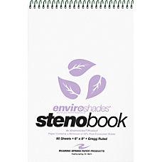 Roaring Spring Enviroshades Recycled Steno Books