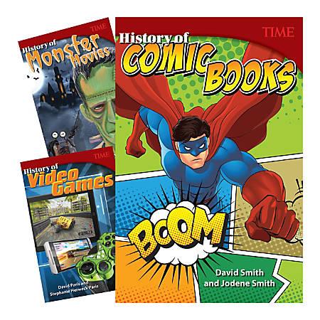 Teacher Created Materials TIME®: History Of Cool Stuff 3-Book Set, Grade 6