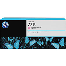 HP 771A Light Magenta Ink Cartridge