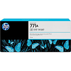 HP 771A Original Ink Cartridge Single