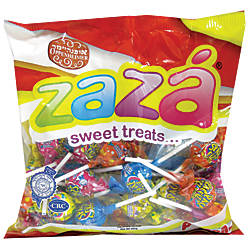 ZAZA Space Fizz Lollipops 141 Oz