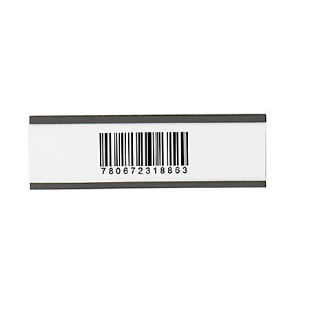 """Partners Brand Magnetic """"C"""" Channel Cardholders 2"""" x 6"""", Case of 25"""