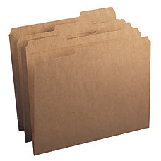 Smead Reinforced Tab Kraft File Folders