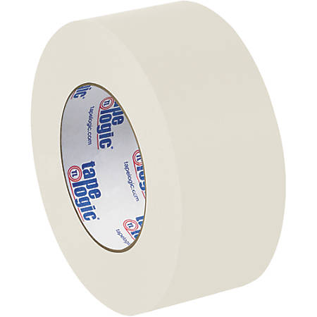 "Tape Logic® Flatback Tape, 3"" Core, 2"" x 60 Yd., Natural White, Case Of 24"