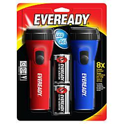Eveready Economy LED Flashlight Twin Pack