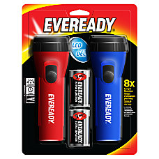Eveready Economy LED Flashlight Twin Pack
