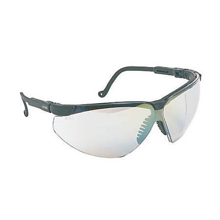 XC TWO SHOT SAFETY GLASSES BLACK FRAME 3.0 ID UD