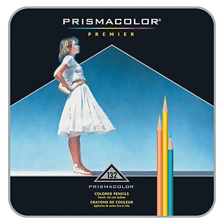 Prismacolor® Premier Soft Core Colored Pencils, Assorted Colors, Pack Of 132