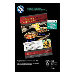 HP Glossy Brochure Inkjet Paper 11