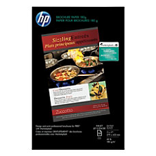 HP Glossy Brochure Inkjet Paper Ledger