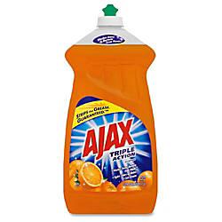 AJAX Triple Action Orange Soap Liquid