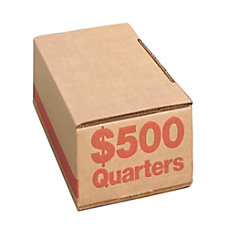 PM Company Coin Boxes Quarters 50000
