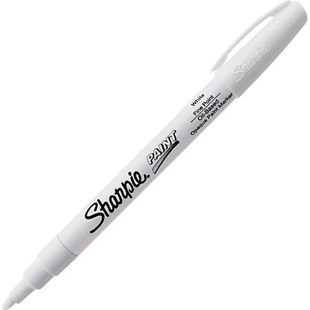 Sharpie Oil Based Paint Marker Fine Point White
