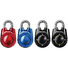 Master Lock Rollerball Combination Padlock Assorted