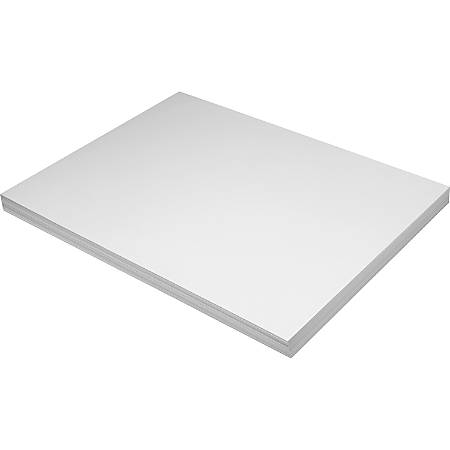 "Pacon® Tag Board, 18"" x 24"", 150 Lb, White, Pack Of 100"