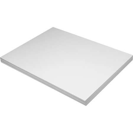 Pacon Tag Board 18 X 24 150 Lb White Pack Of 100 Office Depot