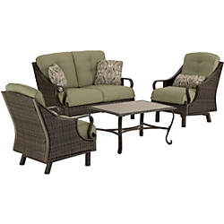 Hanover Ventura 4 Piece Seating Set
