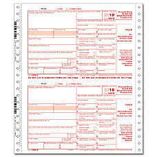 ComplyRight 1099 B Continuous Tax Forms