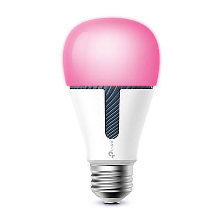 TP-Link Kasa Multicolor Dimming LED Smart Light Bulb, Soft White