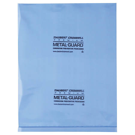 """Office Depot® Brand VCI Flat 4-mil Poly Bags, 8"""" x 10"""", Blue, Case Of 1,000"""