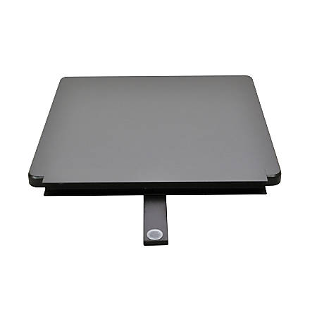 Ergo Desktop Detachable Side Work Surface, Black