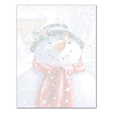 Great Papers Snowman Face Letterhead 80