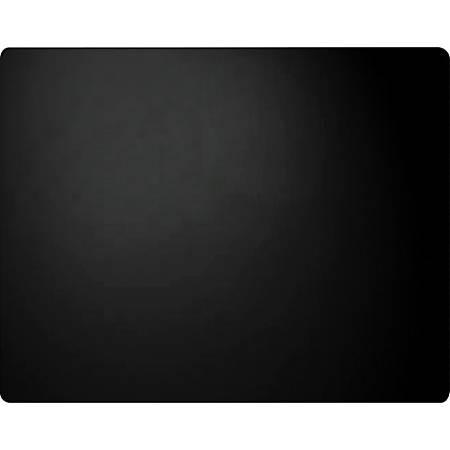 "Artistic Plain Leather Desk Pad - Rectangle - 24"" Width - Leather - Black"