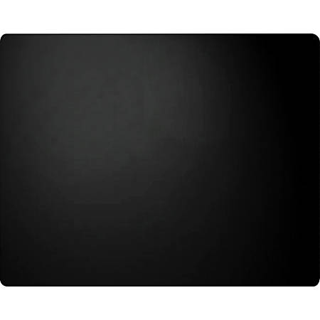 "Artistic Plain Leather Desk Pad - Rectangle - 36"" Width - Leather - Black"
