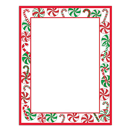 """Great Papers!® Holiday Stationery, 8 1/2"""" x 11"""", Gift Package, Pack Of 80 Sheets"""