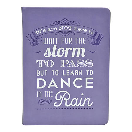 "Eccolo Essential Journal, 5"" x 7"", Dance In The Rain"