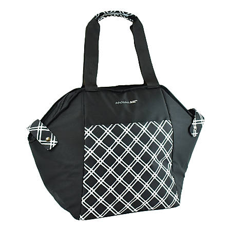 Rachael Ray Day Tripper Insulated Tote Bag, Black