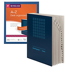 Smead Desk FileSorter A Z Letter