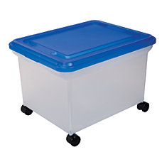 Office Depot Brand Mobile File Box