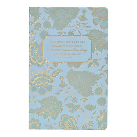 "Eccolo Flexi Journal, 5 1/2"" x 8 1/2"", 192 Pages, Blue"