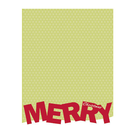 """Great Papers!® Holiday-Themed Foil Letterhead Paper, 8 1/2"""" x 11"""", Merry Christmas, Pack Of 40 Sheets"""