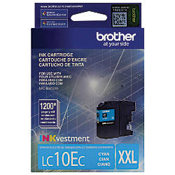 Brother LC10EC High Yield Cyan Ink