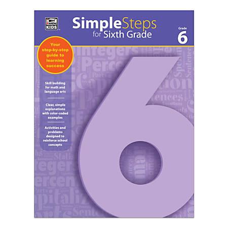 Thinking Kids® Simple Steps, Grade 6