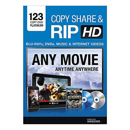 123 Copy DVD Platinum 2014, Traditional Disc