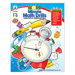 Carson Dellosa More Minute Math Drills