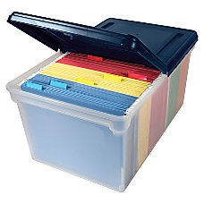 Advantus Extra Capacity File Tote With