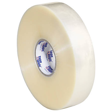 "Tape Logic® #600 Hot Melt Tape, 2"" x 1,000 Yd., Clear, Case Of 6"