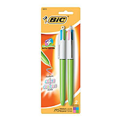 BIC 4 Color Fashion Ball Pens