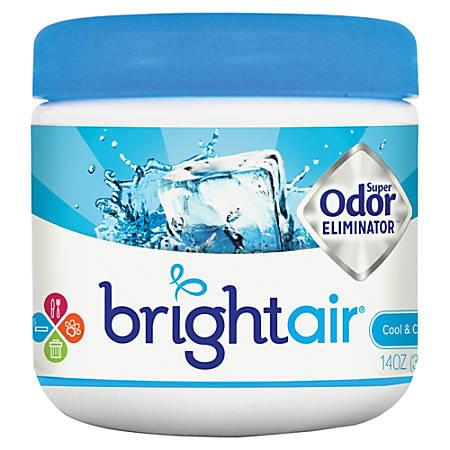 BRIGHT Air® Super Odor™ Eliminator Gel, 14 Oz., Cool & Clean