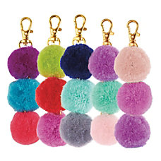Divoga Pom Pom Key Chain Triple