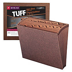 Smead TUFF Expanding File With Open