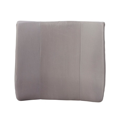 Dmi Lumbar Back Support Cushion With Strap 14 H X 13 W 3 D Gray By Office Depot Officemax