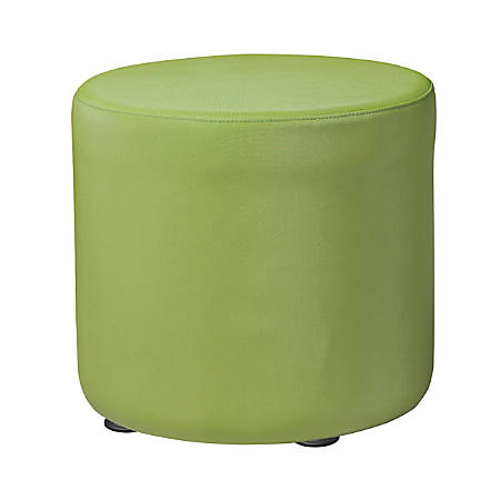 """Marco Round Seating Ottoman, 18""""H, Leap Frog"""
