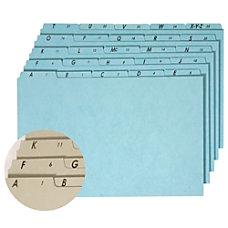 Pendaflex Pressboard Alphabetic File Guides Letter