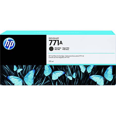 HP 771A Tri-pack - 3-pack - 775 ml - matte black - original - ink cartridge - for DesignJet Z6200, Z6600, Z6610, Z6800, Z6810